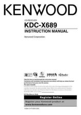 Buy Kenwood KDC-X689 by download Mauritron #219114