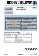 Buy Sony DCR-PC7PC7E.. Service Manual by download Mauritron #239675