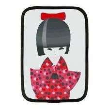 Buy Kokeshi Doll Japan Japanese Art Neoprene 10 Inch Netbook Case