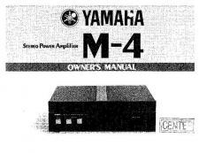 Buy Yamaha M2000E Operating Guide by download Mauritron #248567