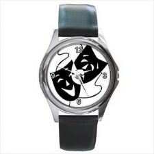 Buy Comedy And Tragedy Masks Actor Thespian Theater Watch