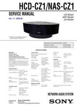 Buy Sony HCD-CQ1 Service Manual by download Mauritron #240923