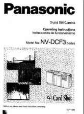 Buy Panasonic NVDCF3 Operating Instruction Book by download Mauritron #236184