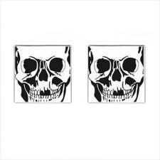 Buy Skull Head Skeleton Goth Art Mens New Cuff Links Cufflinks