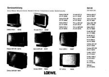 Buy LOEWE 4872Z PLANUS SERVICE MANUAL Manual by download Mauritron #230154