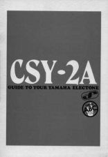 Buy Yamaha CSY2AE Operating Guide by download Mauritron #247240