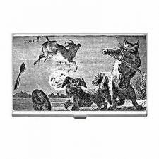 Buy Cat and The Fiddle Cow Jumped Over The Moon Business Credit Card Case