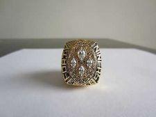 Buy 1989 Super bowl XXIV CHAMPIONSHIP RING San Francisco 49ers MVP Montana 11S NIB