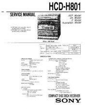 Buy Sony HCD-H790 Service Manual by download Mauritron #241178