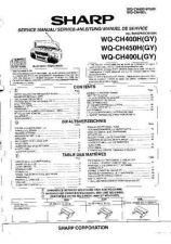Buy Sharp. WQCH400H-L-450H_SM_GB-DE-FR Service Manual by download Mauritron #2118