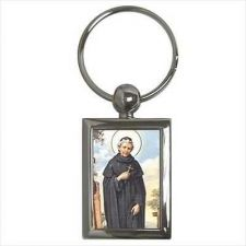 Buy St Peregrine Patron Saint Of Cancer Key Ring Chain