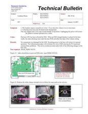 Buy Panasonic tb-07-02 Service Manual by download Mauritron #268984