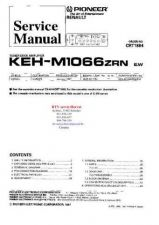 Buy PIONEER KEHM1066ZRN CRT1884 Technical Information by download #119281