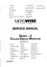 Buy MICROVITEC 1451APM54 SERVICE MANUAL by download #108856