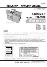 Buy Sharp FO5900DE Service Manual by download Mauritron #208877