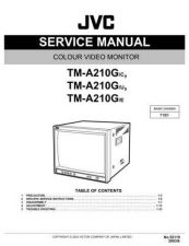 Buy JVC TM-A210G-E Service Manual Schematic Circuit. by download Mauritron #272636