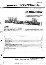 Buy Sharp HTDD5000W Service Manual by download Mauritron #209724