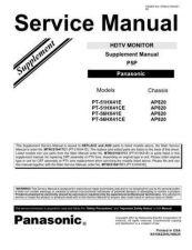 Buy Panasonic MTNC060263C1 Service Manual by download Mauritron #268012