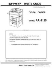 Buy Sharp AR5132 Service Manual by download Mauritron #208142