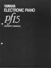 Buy Yamaha PF2000E Operating Guide by download Mauritron #249144