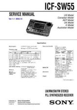 Buy Sony ICF-SW55 Service Manual. by download Mauritron #241652