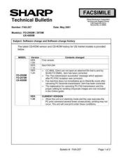 Buy SHARP FAX248 TECHNICAL BULLETIN by download #104416