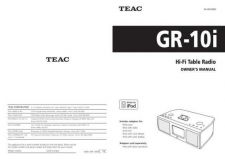 Buy Teac GR-10i(E)C Service Manual by download Mauritron #223755