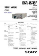 Buy Sony DSR-4545P by download Mauritron #235599