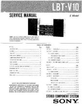 Buy Sony LBT-V10 Service Manual by download Mauritron #241789