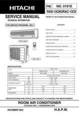 Buy Hitachi R-C- CLU-418U2-4110U Service Manual by download Mauritron #264104
