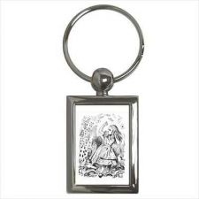 Buy Alice In Wonderland Falling Playing Cards Key Ring Key Chain