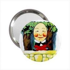 Buy Humpty Dumpty Art Round Handbag Mirror Purse Accessory