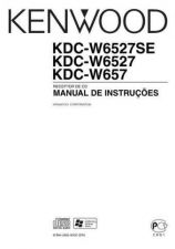 Buy Kenwood KDC-W657 Operating Guide by download Mauritron #222285