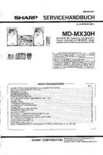 Buy Sharp MDMX30H SM DE Service Manual by download Mauritron #209090