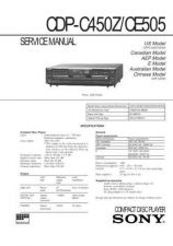 Buy Sony CDP-C445 Service Manual by download Mauritron #237284