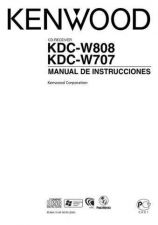 Buy Kenwood KDC-W707 Operating Guide by download Mauritron #222320