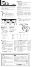 Buy Yamaha VA5 EN Operating Guide by download Mauritron #205513