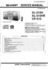 Buy Sharp. XL515H-HR-CP515_SM_GB Manual by download Mauritron #212103