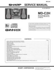 Buy Sharp MD-CPX5H Service Manual by download Mauritron #209061