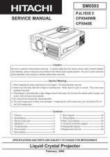 Buy Hitachi 0503E Manual by download Mauritron #224984