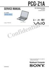 Buy Sony PCG-TR1F Service Manual. by download Mauritron #243373