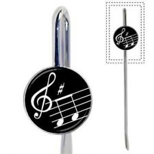 Buy Musical Notes Treble Clef Music Metal New Bookmark