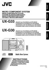 Buy JVC UX-G33-5 Service Manual by download Mauritron #273681