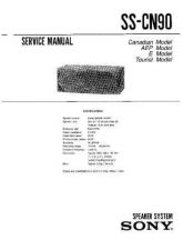 Buy Sony SS-CN290-CR290-SR290 Service Manual. by download Mauritron #244691