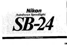 Buy NIKON SB-24 Instruction Manual by download Mauritron #266197