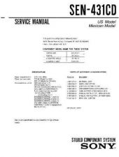 Buy Sony SEN-421CD Technical Manual. by download Mauritron #243864