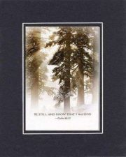 Buy Be Still, and Know That I Am God - Psalm 46:10. . . 8x10 Religous Keepsake