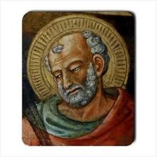 Buy St Jude Patron Saint Of Impossible Miracles Computer Mouse Pad