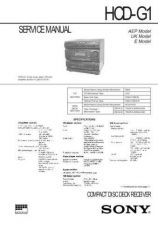 Buy Sony HCD-FX80 Service Manual by download Mauritron #241002