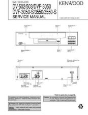 Buy KENWOOD DV502 503 DVF-3550-S DVF-3050-S Technical Information by download #11860